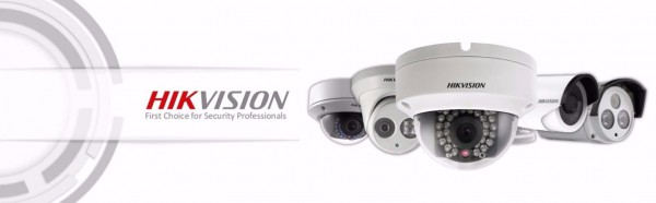Hikvision security camera's